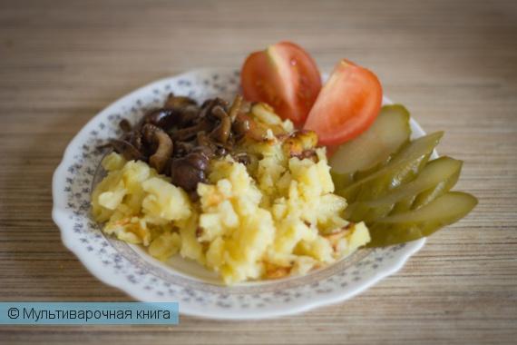Вторые блюда: Жареная картошка в мультиварке
