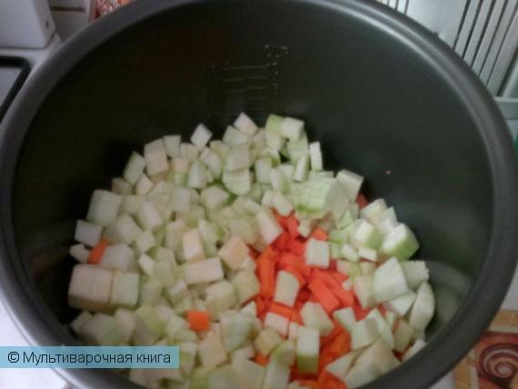 Вторые блюда: Овощное рагу в мультиварке