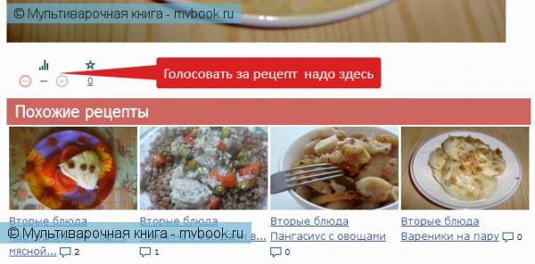 Новости проекта: Внимание, конкурс: «Рецепт месяца»!