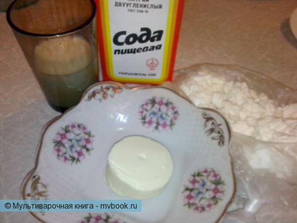 Закуски: Плавленный сыр с укропом и чесноком в мультиварке