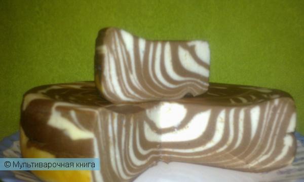 Выпечка: Шоколадно-творожная запеканка в мультиварке