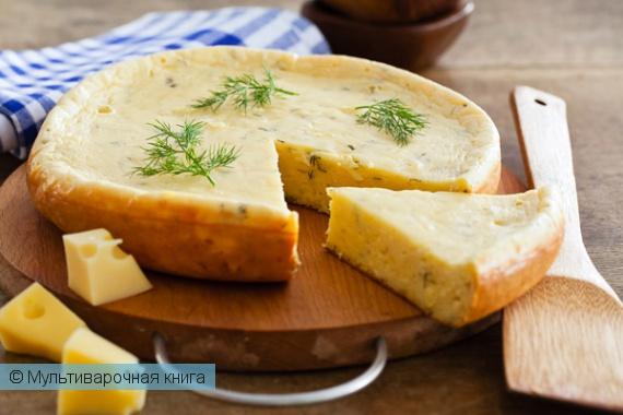 Выпечка: Сырный кекс в мультиварке