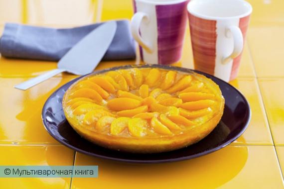 Выпечка: Абрикосовый пирог в мультиварке.