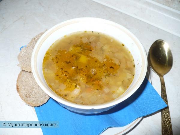 Первое блюдо: Суп Кулеш гороховый