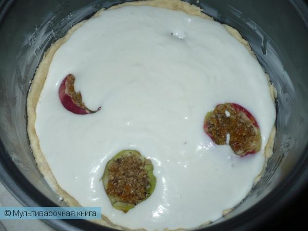 Выпечка: Пирог Четыре яблока