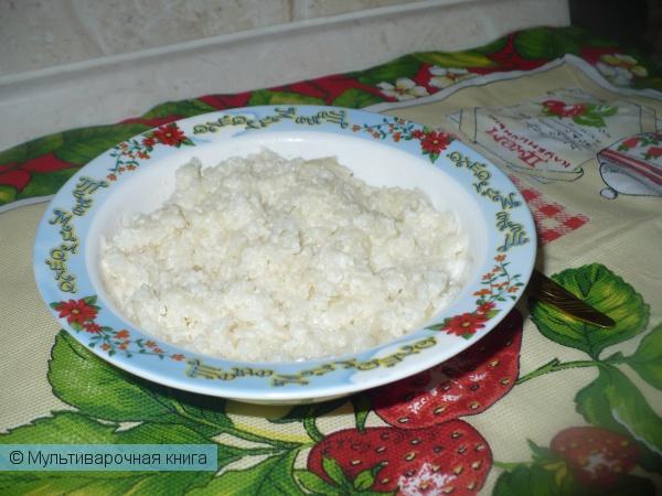 Каши: Рисовая молочная каша в мультиварке