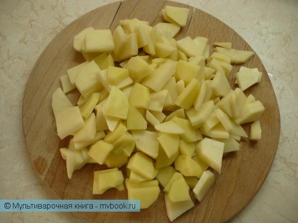 Первое блюдо: Закарпатский суп с фасолью в мультиварке