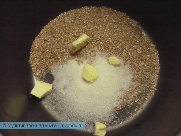 Каши: Пшеничная молочная каша в мультиварке