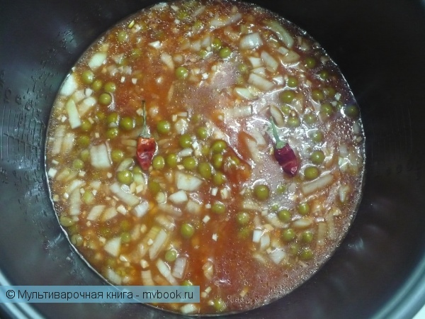 Каши: Рис по-мексикански в мультиварке