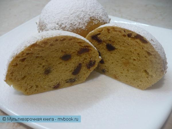Выпечка: Кексы с изюмом на пару в мультиварке