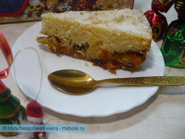 Выпечка: Рождественский кекс в мультиварке