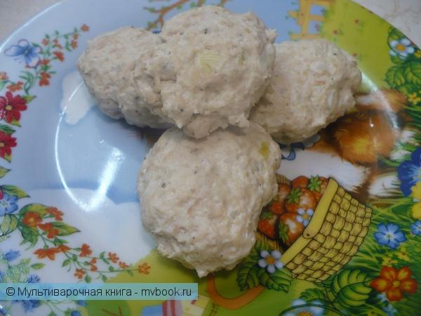 Вторые блюда: Паровые куриные котлеты в мультиварке