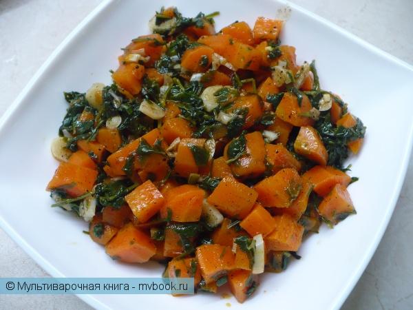 Салаты: Арабский морковный салат в мультиварке
