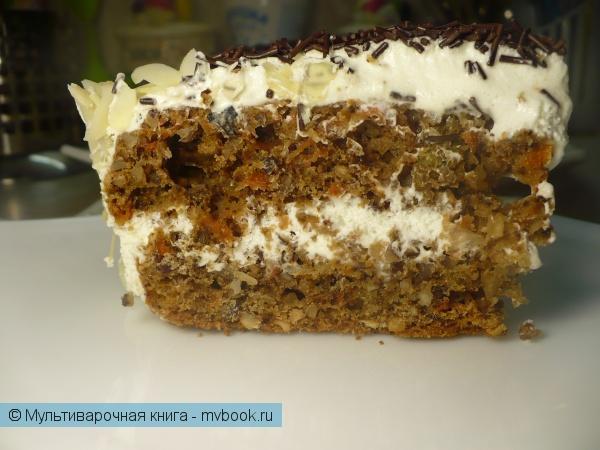 Выпечка: Пряный торт в мультиварке