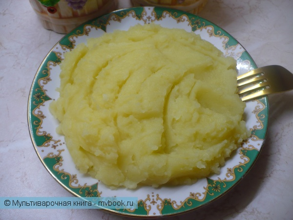 Вторые блюда: Картофельное пюре в мультиварке