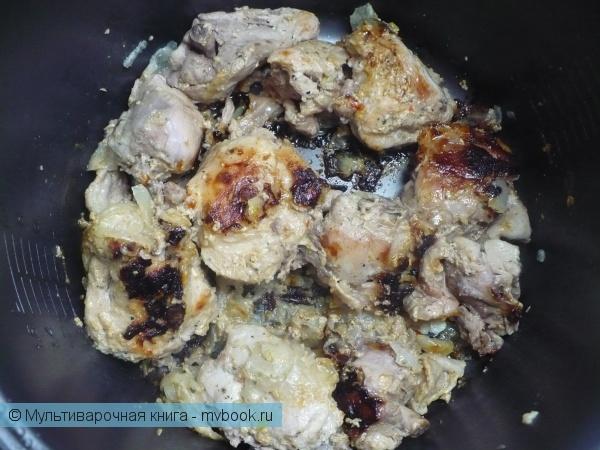 Вторые блюда: Курица, маринованная в кефире в мультиварке