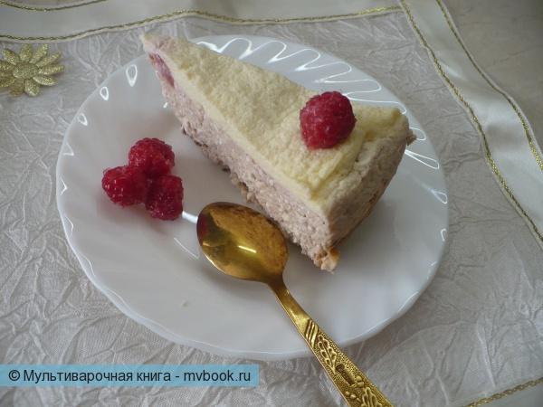 Десерты: Двухслойная творожная запеканка в мультиварке