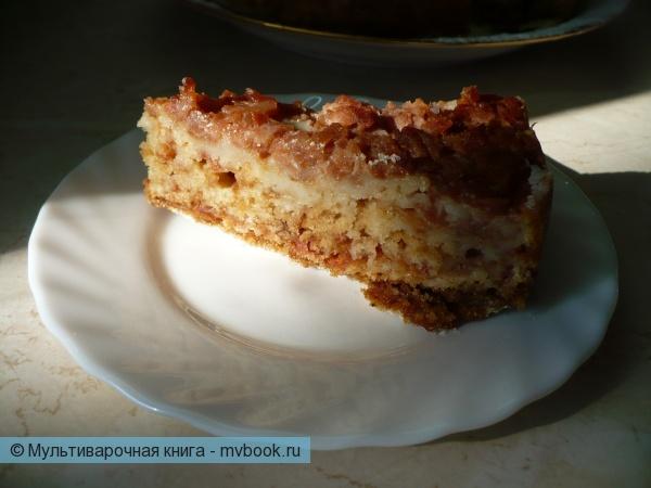 Болгарский яблочный пирог в мультиварке