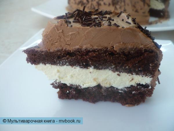 """Шоколадный торт """"Буше"""" в мультиварке"""