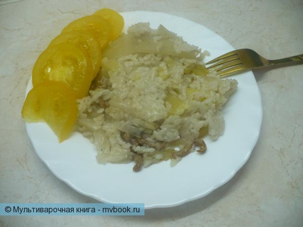 Рис с картофелем в мультиварке