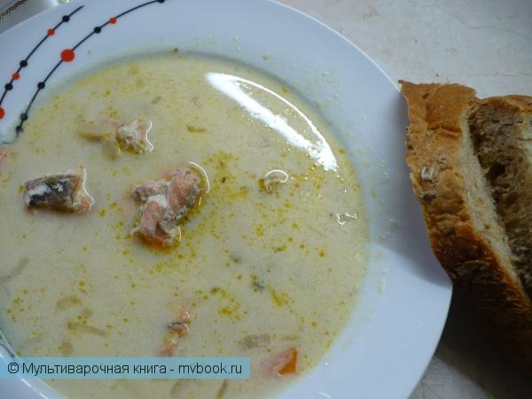 Французский рыбный суп в мультиварке