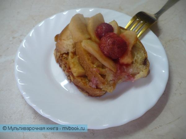 Венский хлебный пудинг в мультиварке