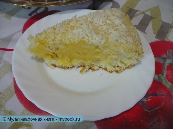 Кокосовый кекс в мультиварке Панасоник