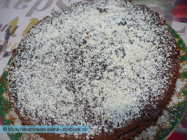Гречневый шоколадный торт в мультиварке