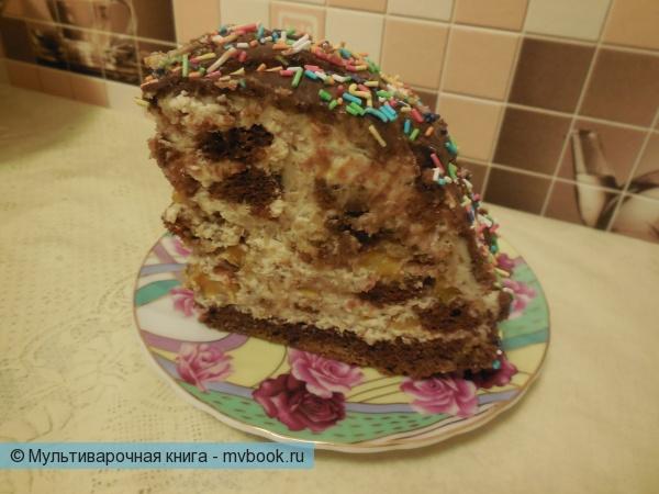 """Торт """"Панчо"""" в мультиварке"""