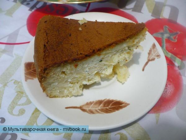 Нежный капустный пирог в мультиварке
