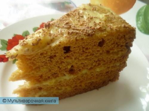 Выпечка: Торт Рыжик