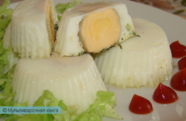 Закуски: Яичные кексы на пару
