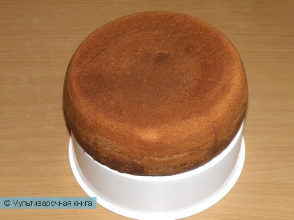 Выпечка: Кекс в шоколадной глазури в мультиварке