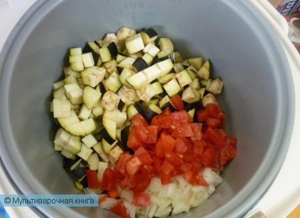 Закуски: Овощи в нежном соусе