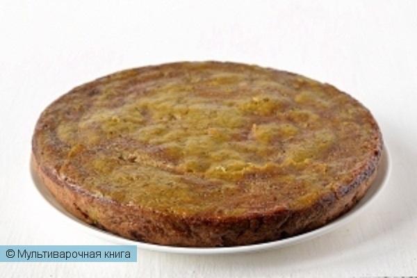 Выпечка: Печеночный пирог в мультиварке