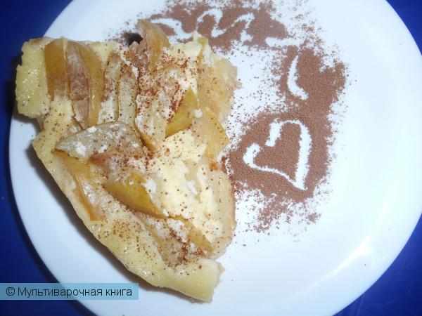 Выпечка: Цветаевский яблочный пирог