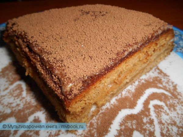 Выпечка: Орехово-медовый пирог