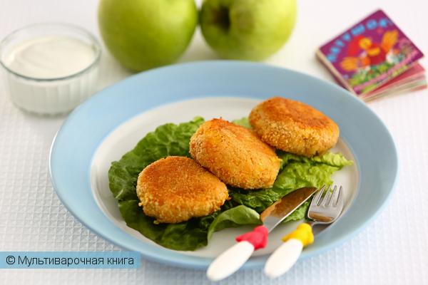 Детское меню: Морковно-яблочные котлеты