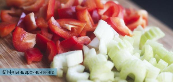 Первое блюдо: Суп-пюре из томатов.