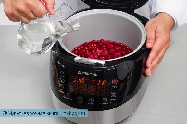 Десерты: Конфитюр из красной смородины и малины