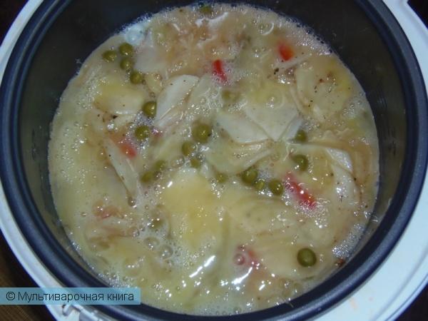 Вторые блюда: Испанская тортилья