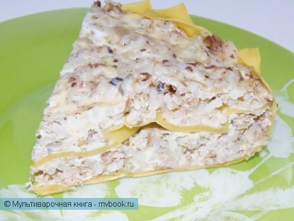 Вторые блюда: Рисовая лазанья-запеканка