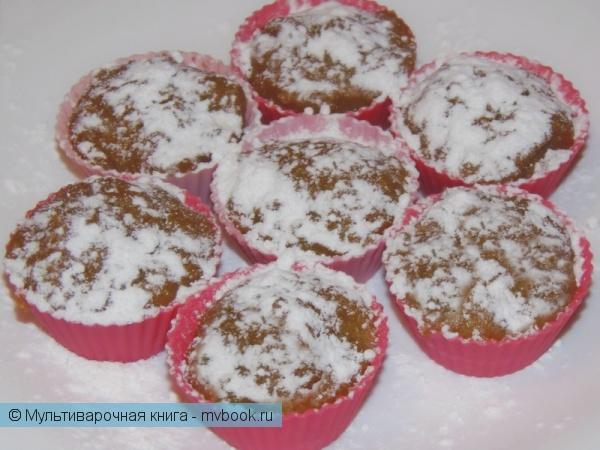 Детское меню: Кукурузно-медовые мини-кексы на пару
