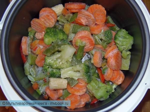 Вторые блюда: Булгур с овощами