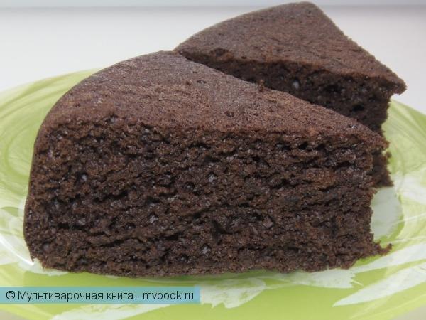 Выпечка: Шоколадный пирог (постный)