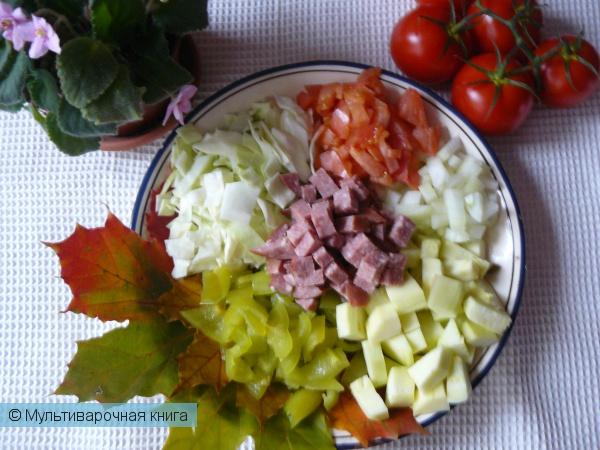 Вторые блюда: Рагу Осенняя рапсодия