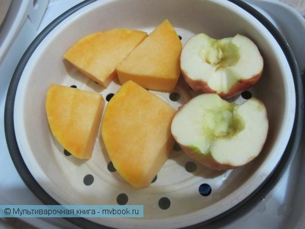 Детское меню: Тыквенно-яблочное пюре