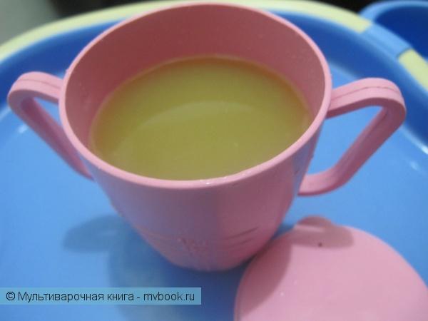 Напитки: Яблочный кисель для детей
