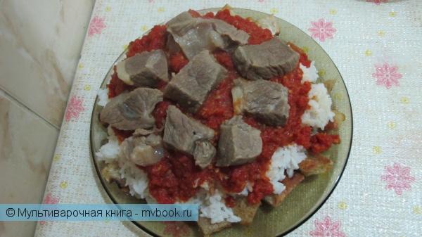 Вторые блюда: Фатта в мультиварке
