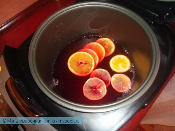 Напитки: Рецепт глинтвейна в мультиварке